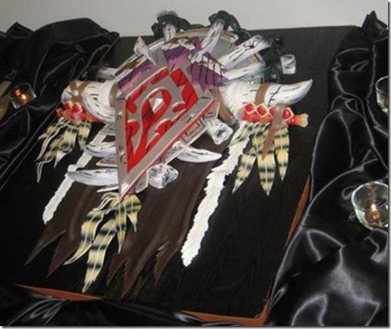 An Amazing WoW Wedding Cake