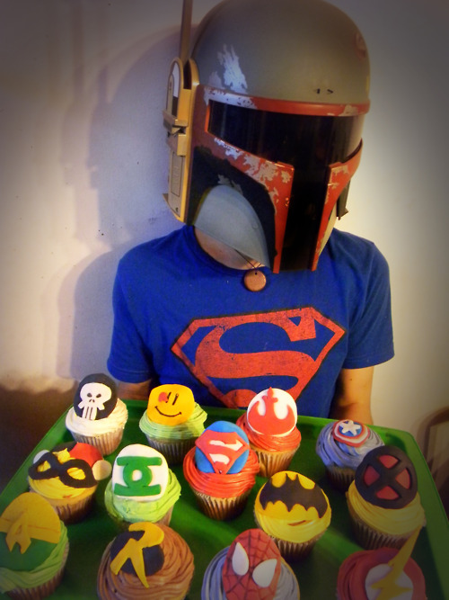 Boba Fett and His Nerdy Cupcakes