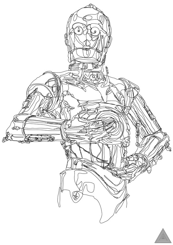 Line Drawing In C : C po continuous line drawing pic global geek news