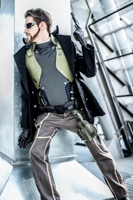 Deus Ex Adam Jensen Cosplay