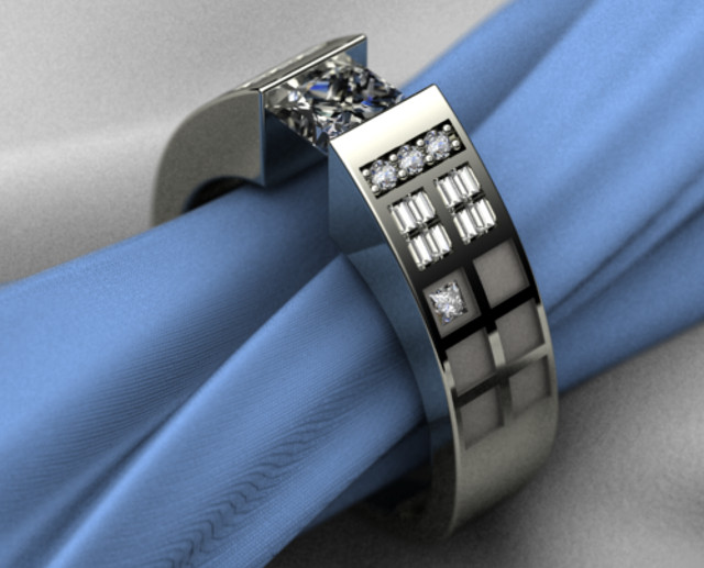 Doctor Who TARDIS Engagement Ring pic Global Geek News
