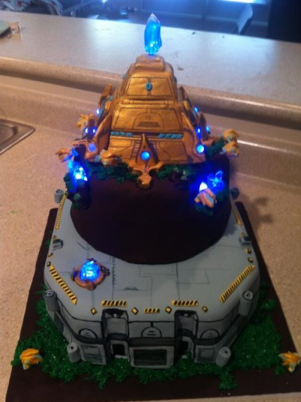Epic Starcraft Protoss Cake