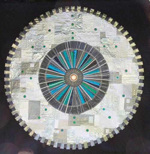 Large Hadron Collider Quilt