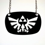 Legend of Zelda Hylian Crest Laser Cut Necklace [pic]