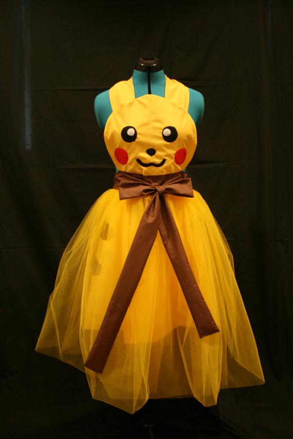 Pokemon Pikachu Prom Dress