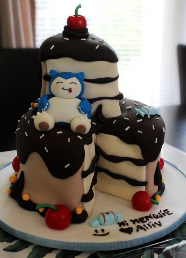 Snorlax Cake