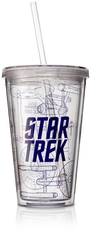 Star Trek Acrylic Travel Cup