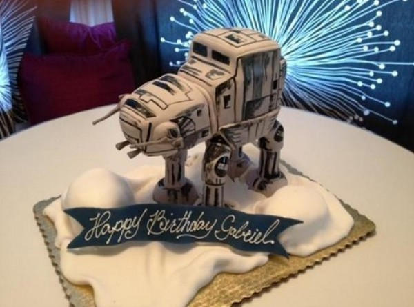 Star Wars AT-AT Birthday Cake