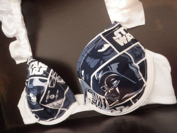 Star Wars Push-Up Bra - The Ruffle Alliance