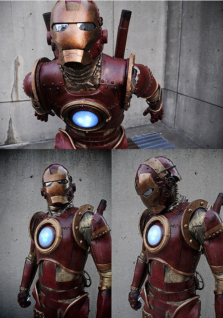 Steampunk Iron Man Cosplay