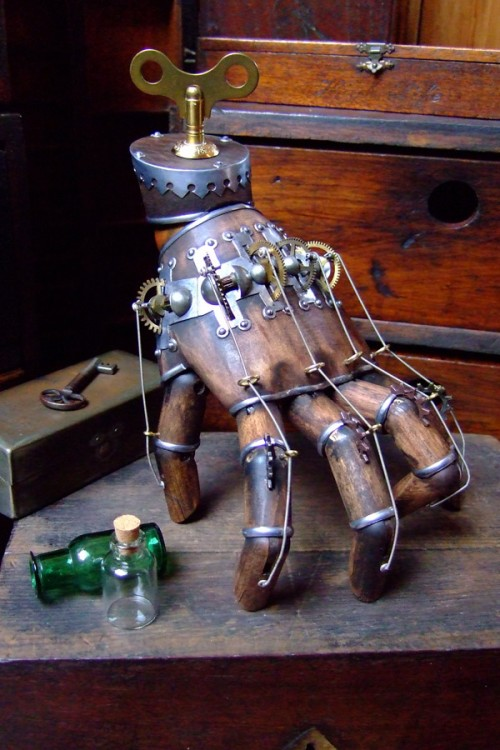Steampunk Thing from The Addams Family