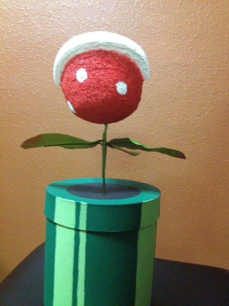 Super Mario Bros Warp Tube and Piranha Plant by Video Game Rescue