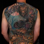 Amazing World of Warcraft Full Back Tattoo [pic]