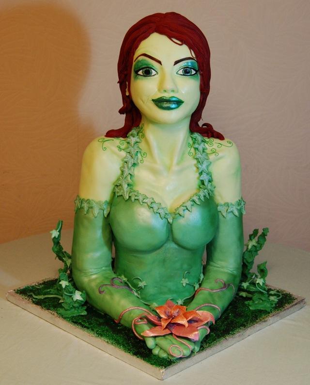 Award Winning Poison Ivy Cake