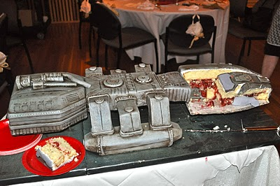 BSG Wedding Cake Cut