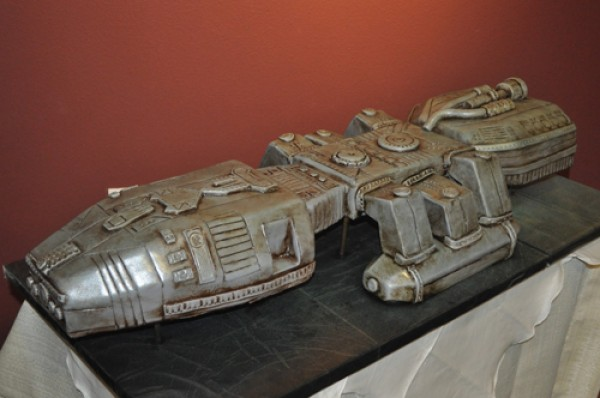 Battlestar Galactica Wedding Cake