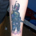 Cool Boba Fett Tattoo [pic]