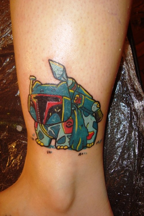 BulbaFett Tattoo