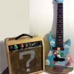 Super Mario Bros Guitar and Question Block Amp [pic]