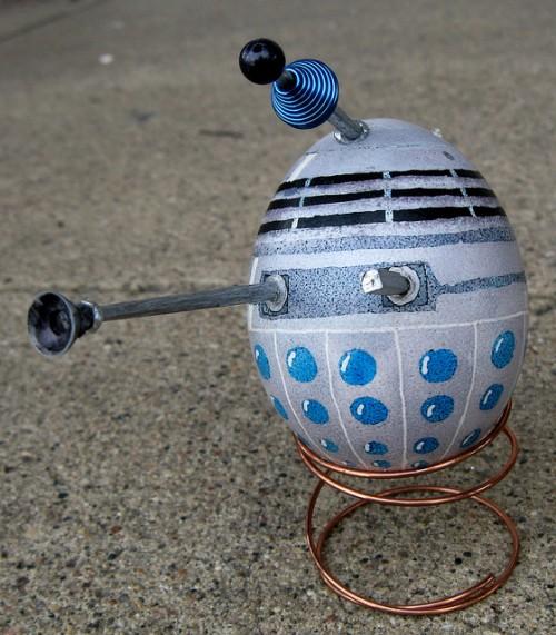 Doctor Who Dalek Easter Egg