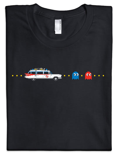Ghostbusters Chasing Pac-Man Ghosts Shirt