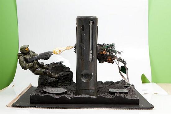 Halo Xbox 360 Case Mod