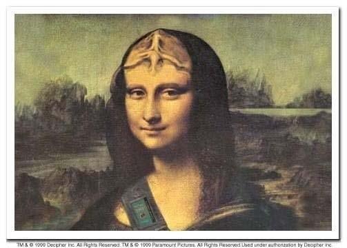 Klingon Mona Lisa