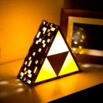 Beautiful Legend of Zelda Triforce Lamp [pic]