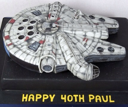 Millennium Falcon Birthday Cake