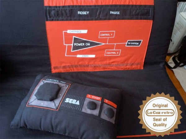 SEGA Master System Sofa and Controller Pillow