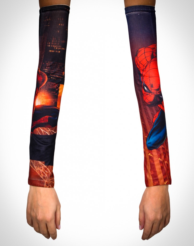 Spider-Man Tattoo Sleeves