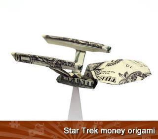 Star Trek Enterprise Origami