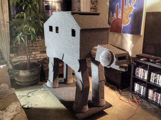 Star Wars AT-AT Cat House
