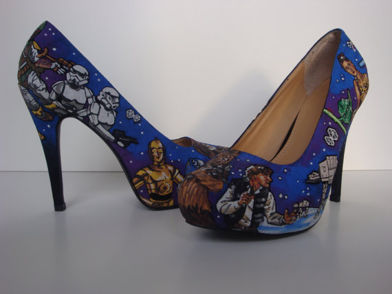 Star Wars High Heel Shoes