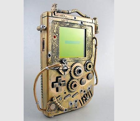 Steampunk Nintendo Game Boy