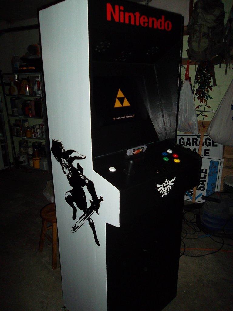 Super Nintendo Arcade Cabinet