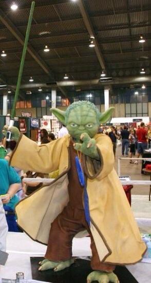 Amazing Yoda Cake