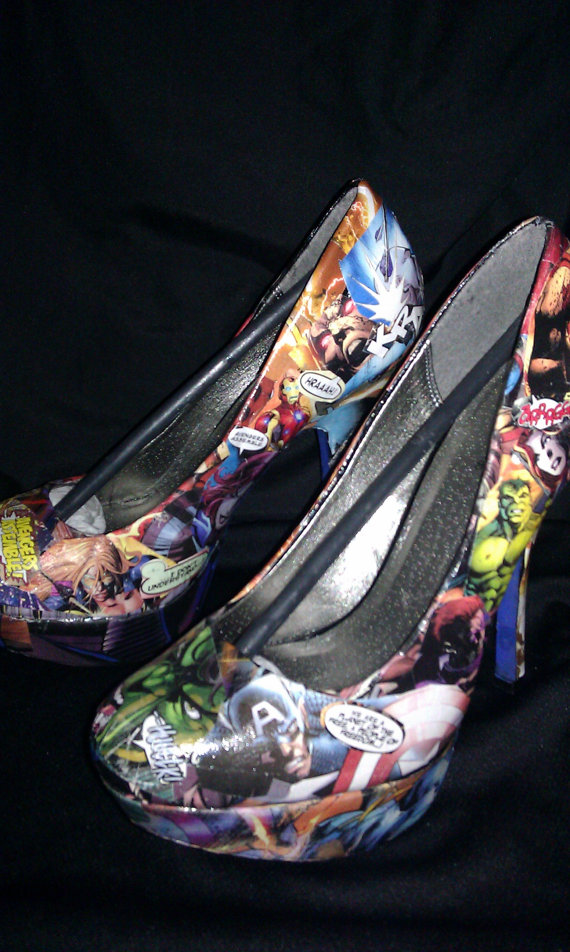Avengers High Heels