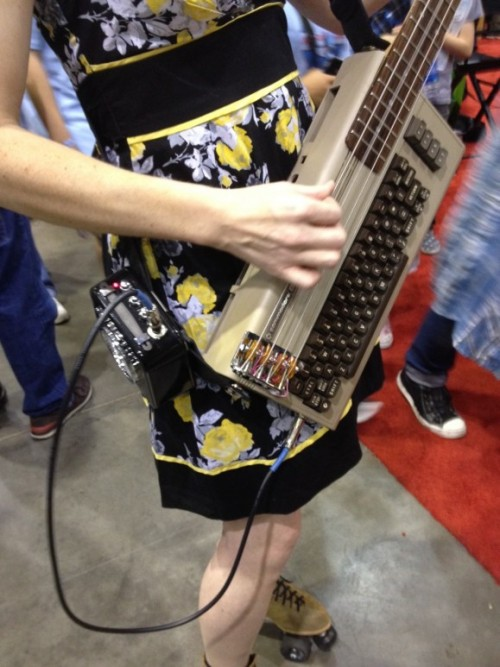Commodore 64 Bass Guitar
