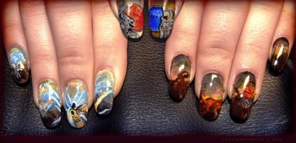 Diablo III Fingernail Art