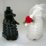 Dalek Wedding Cake Toppers [pic]