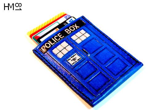 Doctor Who TARDIS Slim Wallet