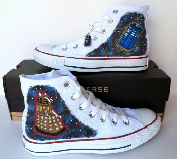 Doctor Who TARDIS and Dalek Shoes
