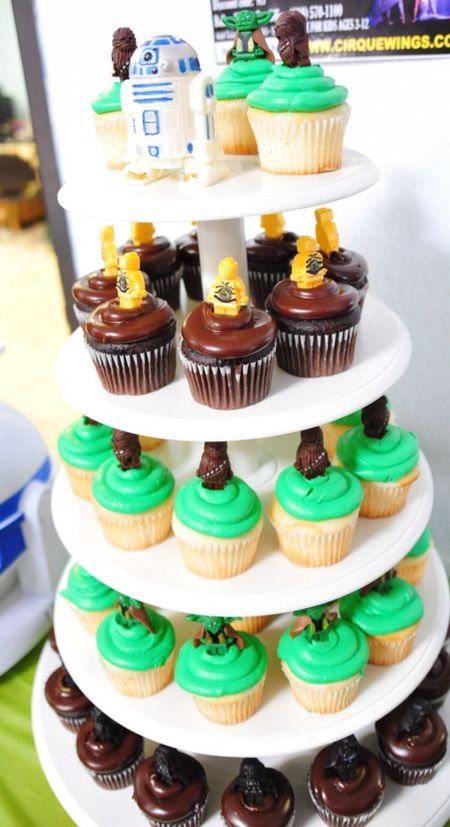 LEGO Star Wars Cupcake Tower