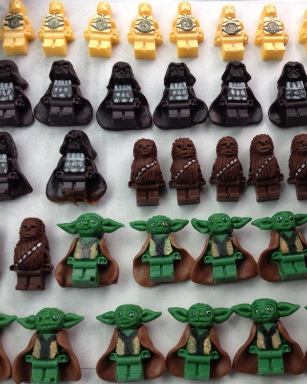 LEGO Star Wars Minifigs for the Cupcakes