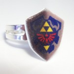 Legend of Zelda Hylian Shield Ring