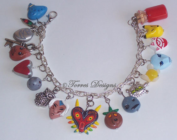 Legend of Zelda: Majora's Mask Charm Bracelet