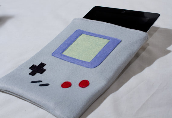 Nintendo Game Boy Inspired Apple iPad Envelope Case