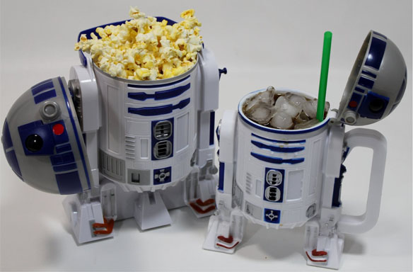 R2-D2 Popcorn Bucket and Drink Stein Set