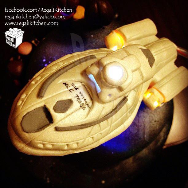 Star Trek Voyager Cake